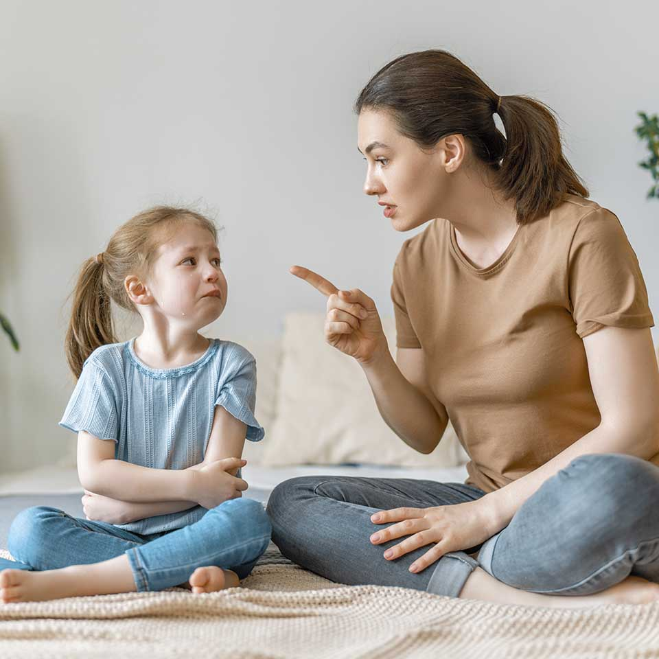 Cómo disciplinar a los niños